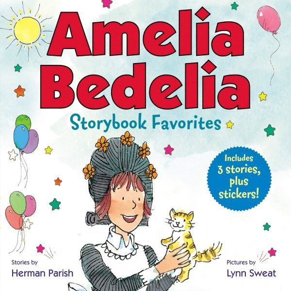 Amelia Bedelia is a friendly, goofy, and confused maid. She is very eager to volunteer at her local library.